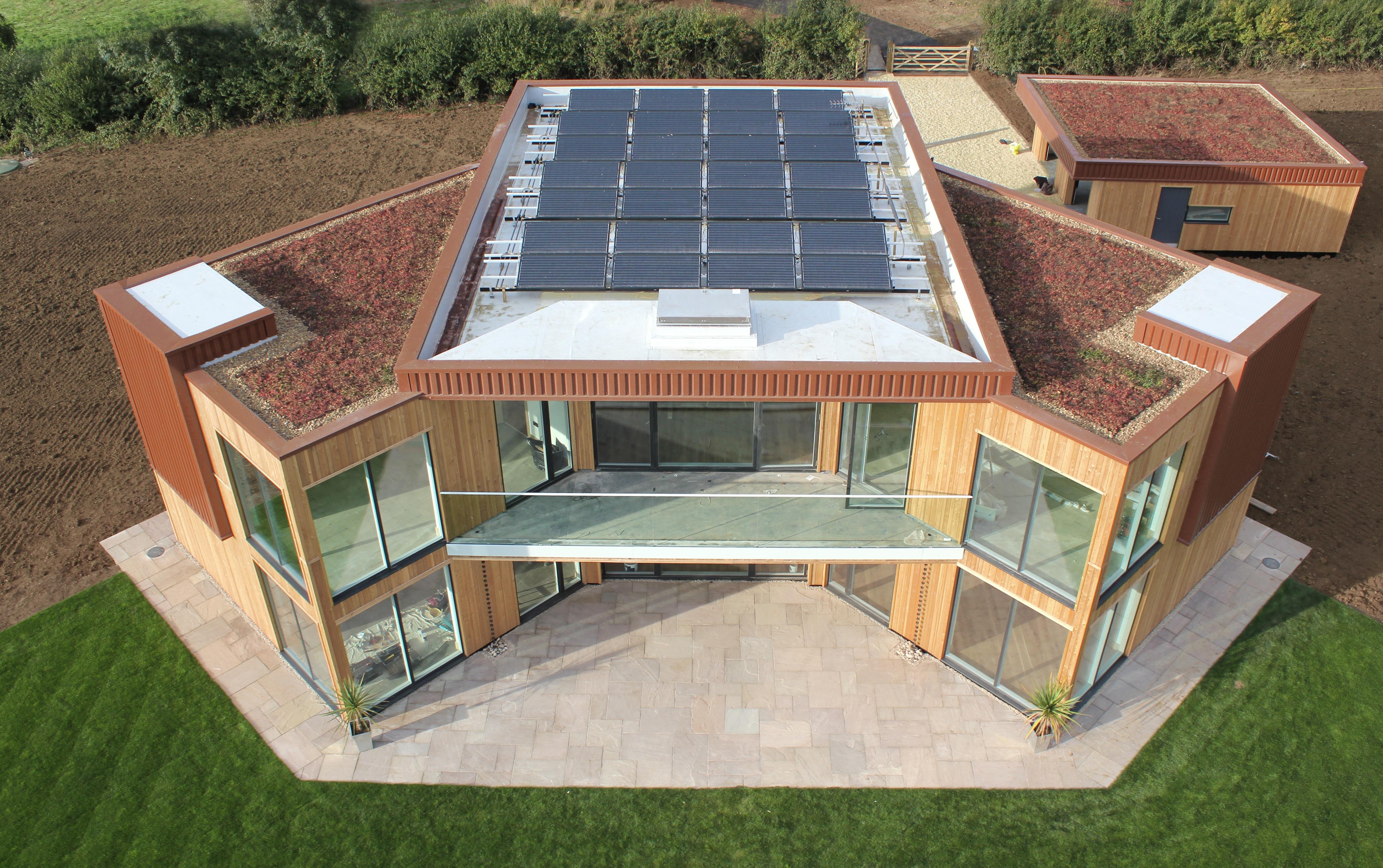 Solar home design peion homemade ftempo for Solar home design
